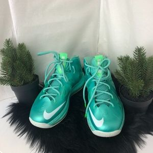 Nike Air Max LeBron James X 10 GS Easter Mint